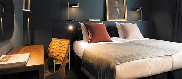 Fashion Shopping Luxus Umkleide Im Hotelzimmer