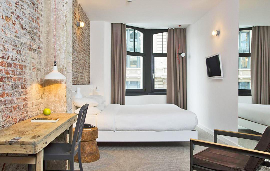 L'hôtel 9 Sablon à Bruxelles