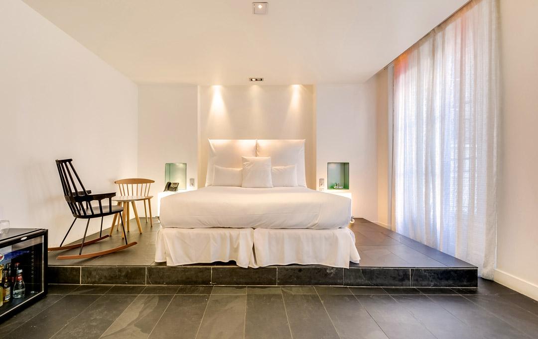 5 id es pour am nager sa chambre comme l 39 h tel. Black Bedroom Furniture Sets. Home Design Ideas