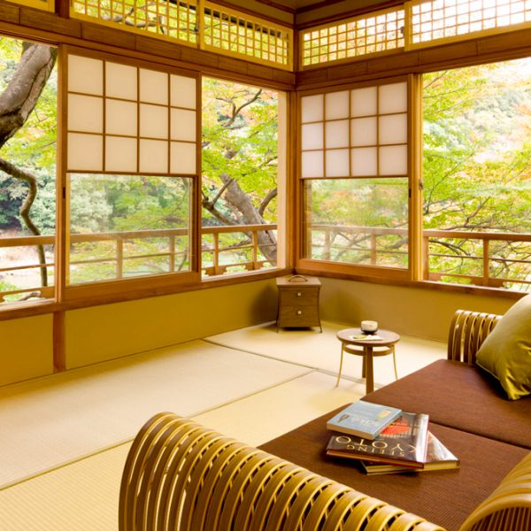 Hôtel Hoshinoya Kyoto où séjourne Jessica Alba