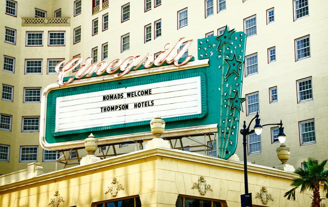 Marilyn Monroe au Cinegril du Roosevelt Hollywood Hotel