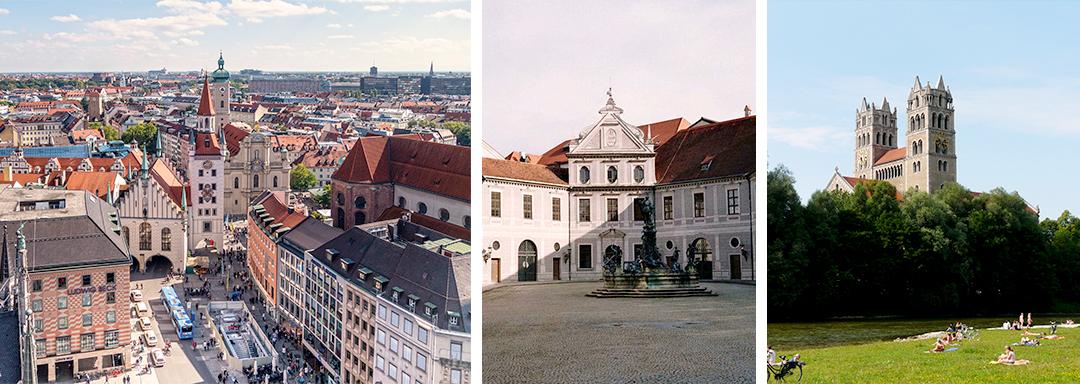Munich et ses monuments