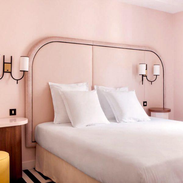 Quand les hotels voient la vie en rose - Hôtel Bienvenue