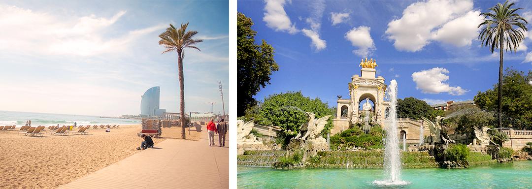Barcelone : le Parc de laCiutadellaet le zoo