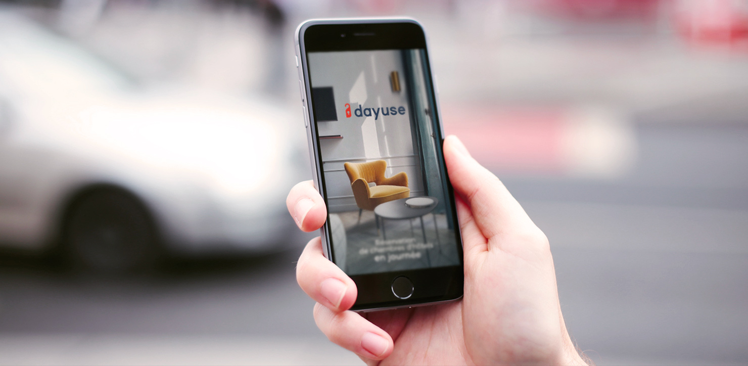 Discover our new app and book a room in just a few clicks!