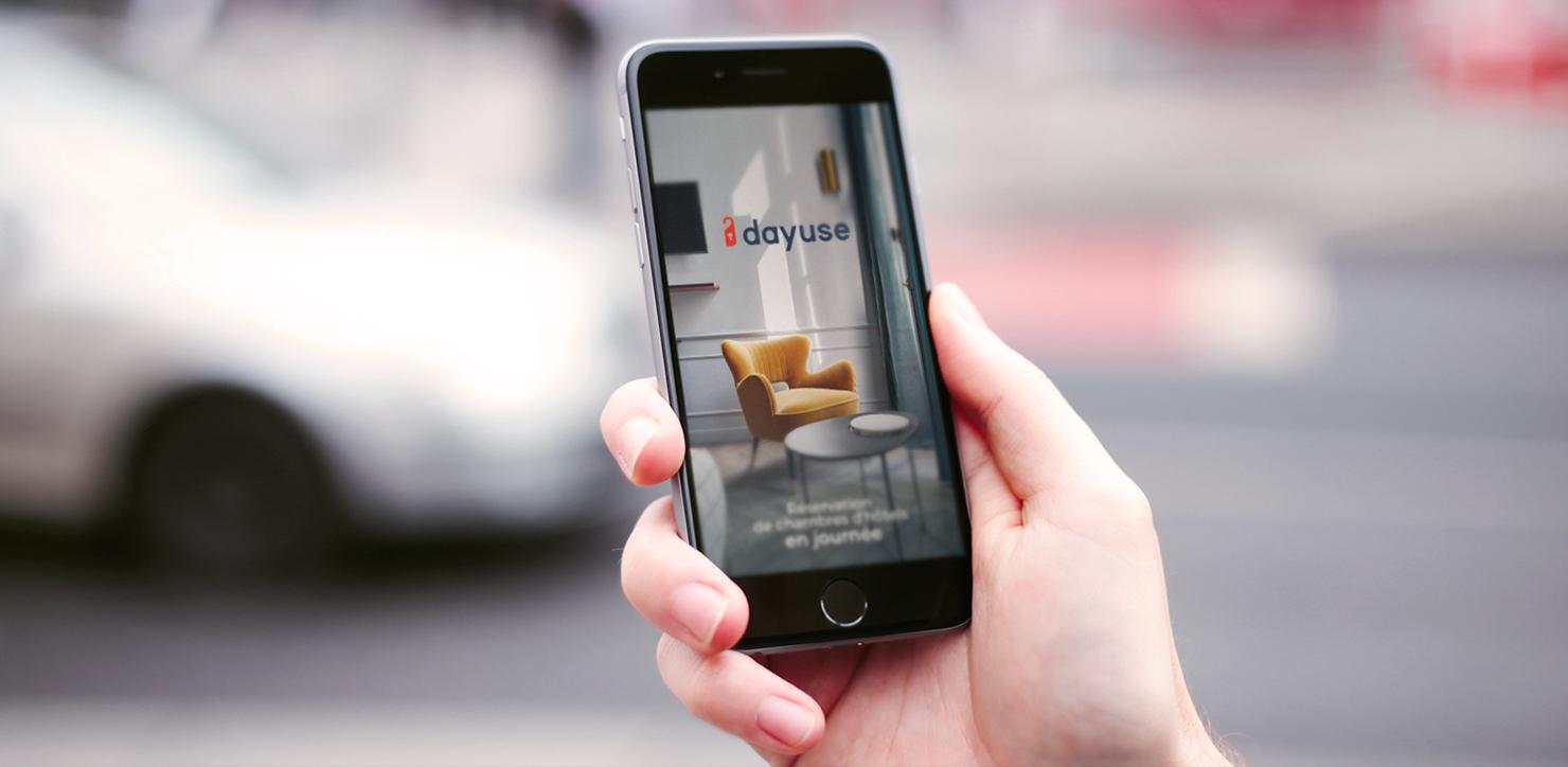 Découvrez notre nouvelle application et réservez une chambre en quelques clics !